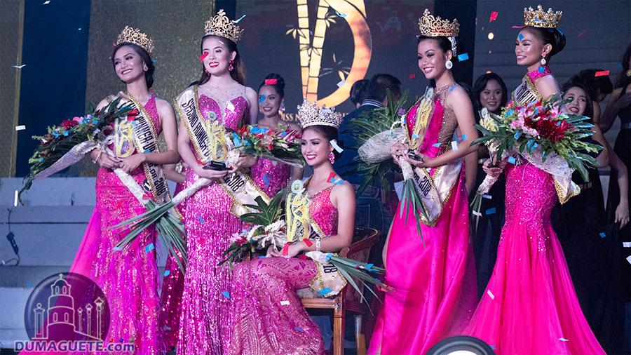 Miss Negros Oriental 2018 - Coronation Night - Top 5 Winners