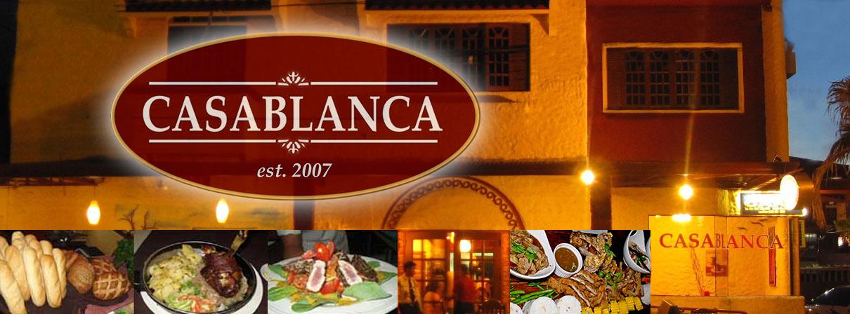 Casablanca Restaurant - Dumaguete City