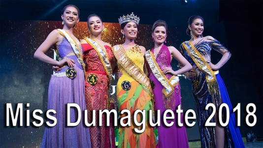 Video of Miss Dumaguete 2018