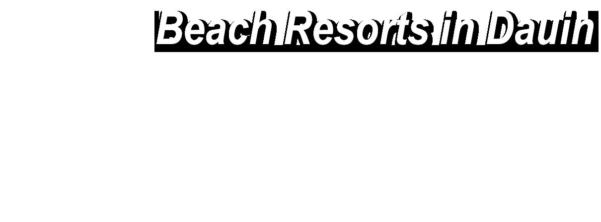Beach Resorts in Dauin- slider