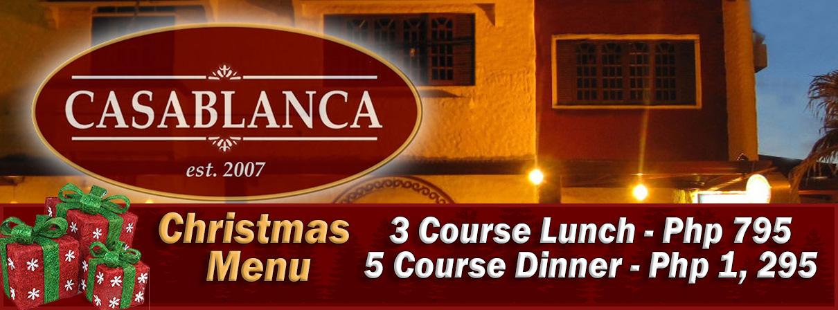 Casablanca Restaurant - Dumaguete City - Christmas 2018