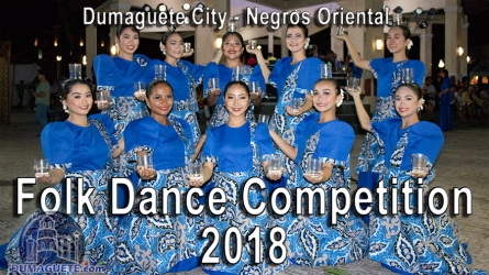 Folk Dance Competition 2018 in Dumaguete City – Video