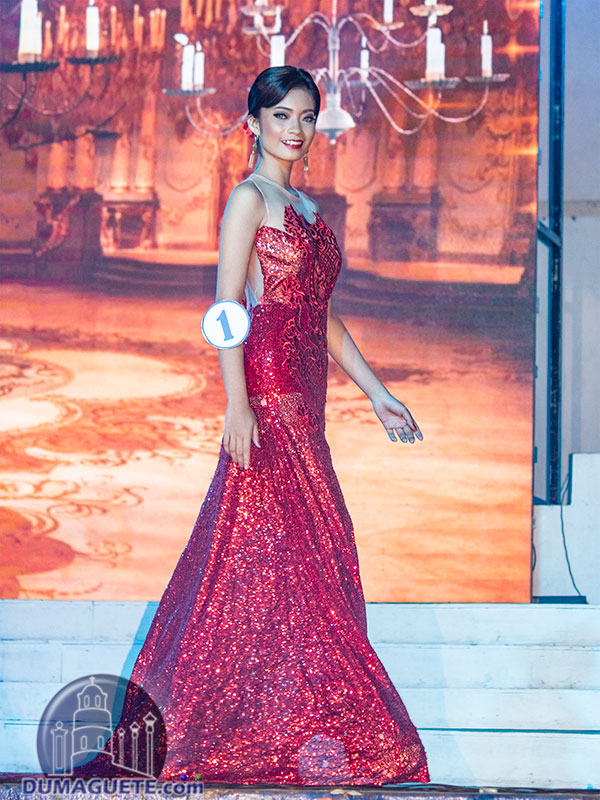 Miss Siaton 2018 - Coronation Night - Evening Gown 1