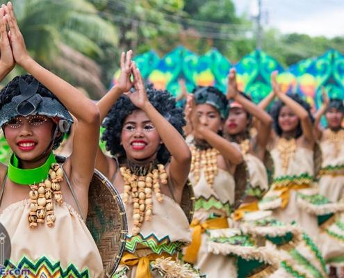 Langub Festival 2019 - Mabinay - Street Dancing