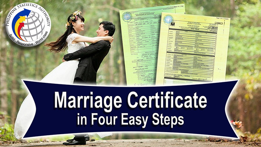 Marriage Certificate in the Philippines | Good to Know Video | NSO