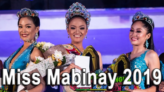 Video of Miss Mabinay 2019