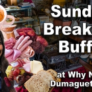Sunday Breakfast Buffet - Why Not Dumaguete City