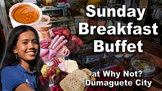 Sunday Breakfast Buffet at Why Not – Video
