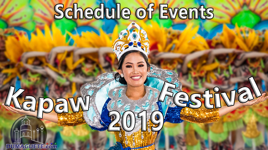 Basay Kapaw Festival 2019 - Schedule of Events