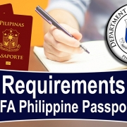 Requirements Philippine Passport DFA (UPDATE)