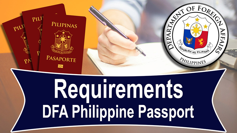3d043e6a35c2 DFA Passport Requirements   Video   Department of Foreign Affairs