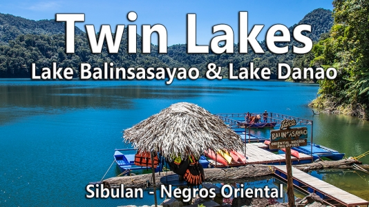 Twin Lakes in Sibulan – Video