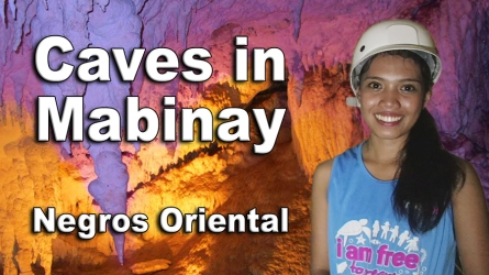 Caves in Mabinay – Video