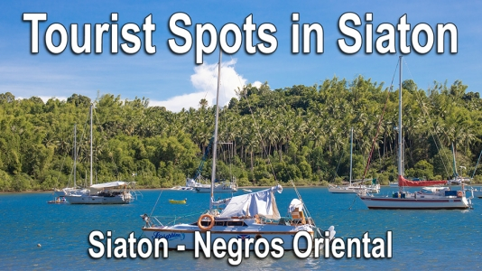 Tourist Spots in Siaton – Video