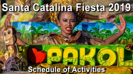 71st Santa Catalina Fiesta 2019 – Schedule of Activities