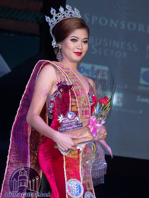 Miss Pandanyag 2019 - Evening Gown 2nd Runner Up