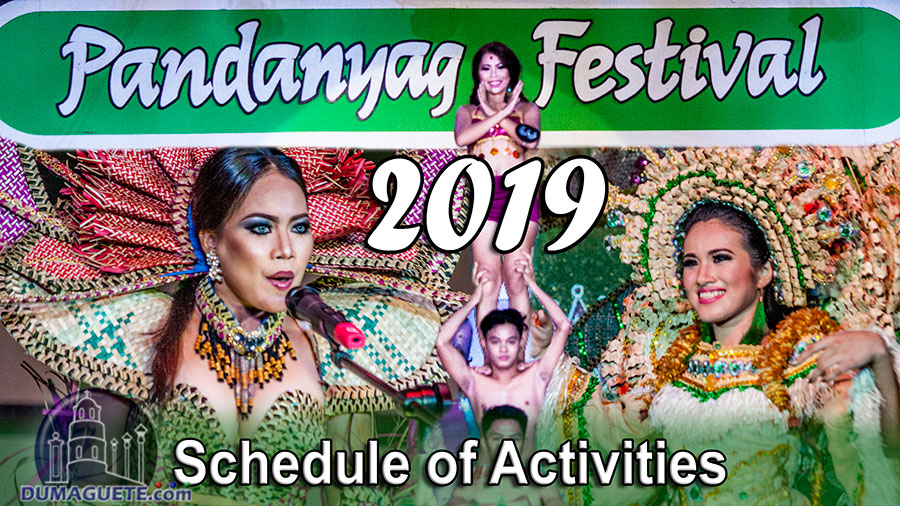 Pandanyag Festival 2019 - La Libertad - Schedule of Activities