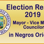 Election Results 2019 - Negros Oriental