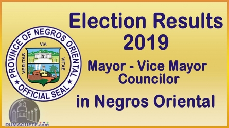 Election Results 2019 – Negros Oriental