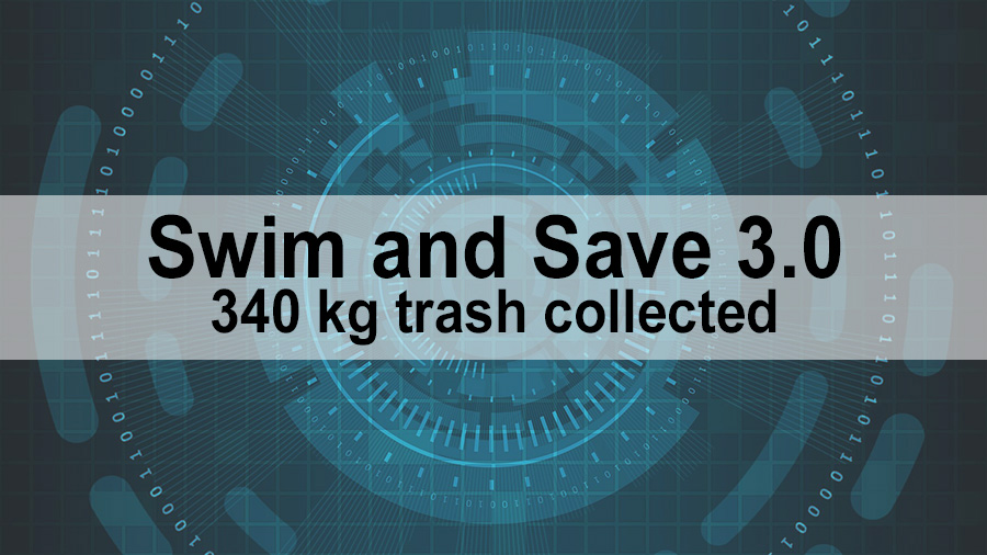 Swim and Save 3.0 - 340 kg trash collected