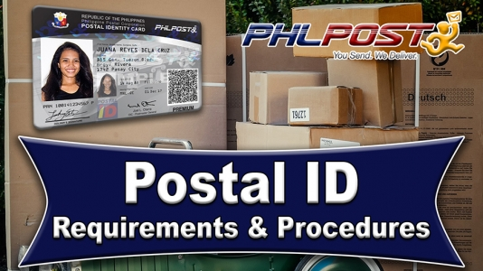 Getting a Philippine Postal ID – Video