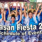 Tayasan Fiesta 2019 - Schedule of Events - Negros Oriental