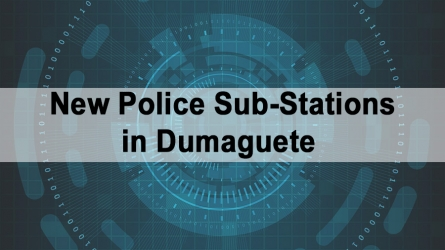New Police Sub-Stations in Dumaguete