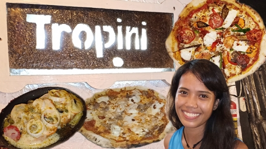 Tropini Pizza in Dumaguete City – Video