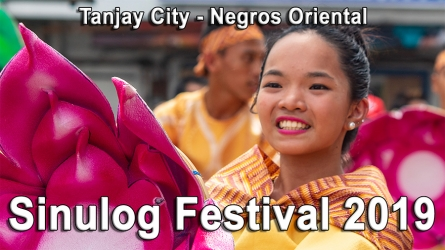 Sinulog Festival 2019 in Tanjay City
