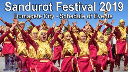 Dumaguete City Sandurot Festival 2019 – Schedule of Events