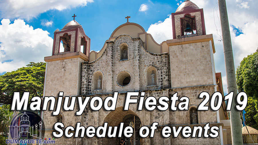 Manjuyod Fiesta 2019 - Schedule of Events