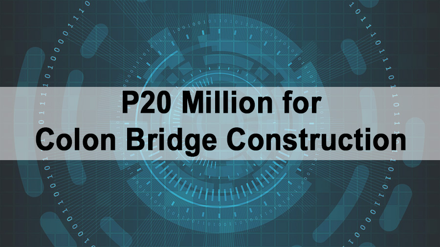 P20 Million for Colon Bridge Construction