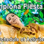 Pamplona Fiesta 2019 - Schedule of Activities