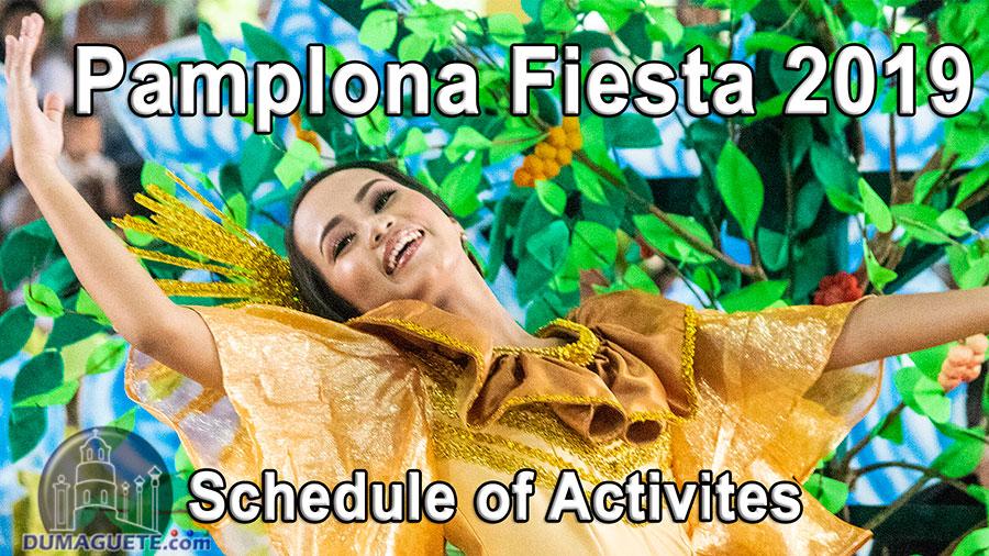 Pamplona Fiesta 2019 - Schedule of Activities