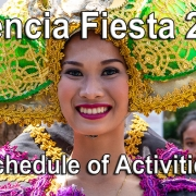 Valencia Fiesta 2019 – Schedule of Activities