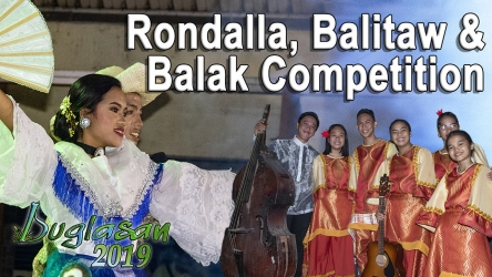 Rondalla, Balitaw and Balak Competition – Buglasan 2019