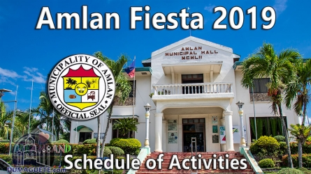 Amlan Fiesta 2019 Schedule of Activities