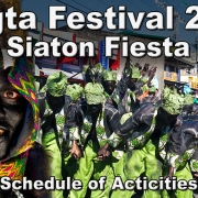 Inagta Festival 2019 & Siaton Fiesta – Schedule of Activities