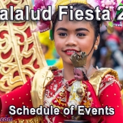 Jimalalud Fiesta 2020 - Schedule of Events