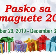 Pasko sa Dumaguete 2019 - Schedule of Events