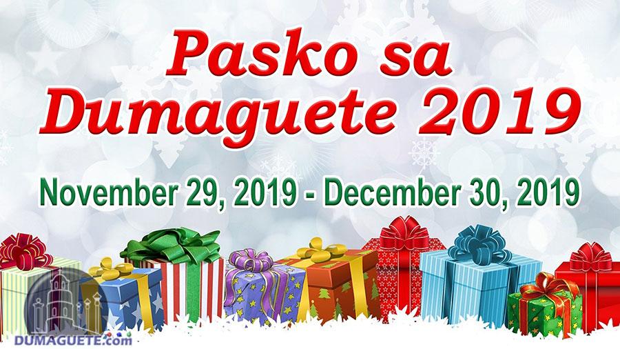 Pasko sa Dumaguete 2019 - Schedule of Events