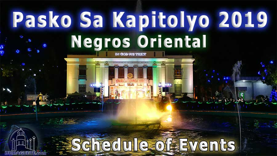 Pasko-sa-Kapitolyo-2019-Schedule-of-Events