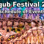 Langub Festival 2020 - Schedule of Events