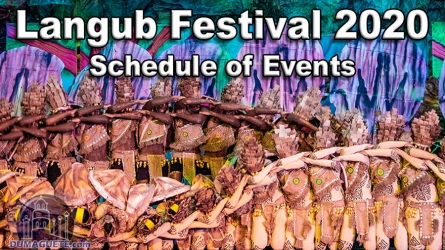 Langub Festival 2020 – Schedule of Events