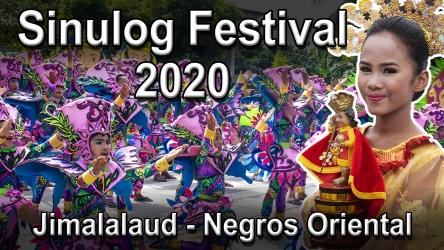 Sinulog Festival 2020 in Jimalalud