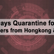 14 Days Quarantine for All Foreigners from Hongkong & China