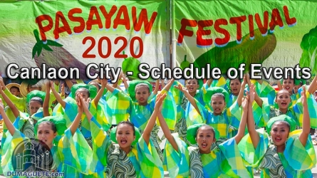Canlaon City Fiesta 2020 & Pasayaw Festival 2020 – Schedule of Events