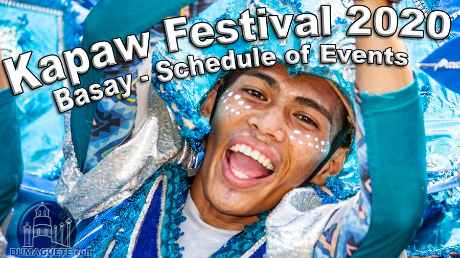 Kapaw Festival 2020 - Schedule of Events