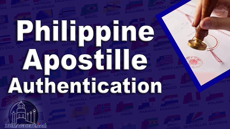 Philippine Apostille Authentication