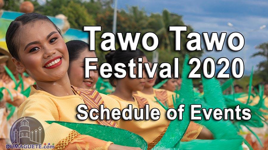 Tawo Tawo Festival 2020 – Schedule of Events